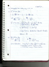 Integration Examples and Trigonometric Rules