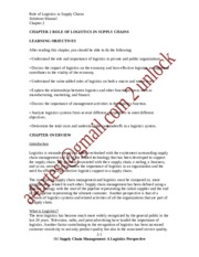 SolutionManual_SupplyChainMgmt_ALogisticsPerspective_9Ed_by_Coyle_Langley_Chapter2