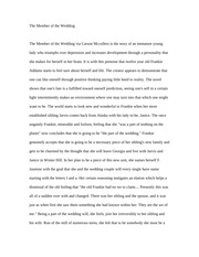 Essay on The Member of the Wedding