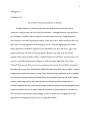 cultural issue essay