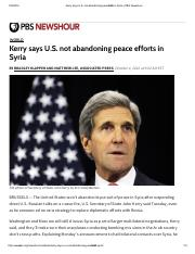 Kerry says U.S not abandoing peace efforts in Syria.pdf