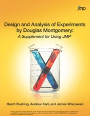 Design and Analysis of Experiment by Douglas Montgomery_Supplement for Using JMP
