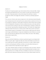 Fighting for freedom essay