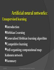 Unsupervised Learning.ppt