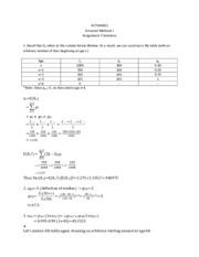 Unit 3 Supplemental Problems-Solutions