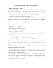 Notes-Linear-Algebra-Math208-PartII