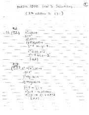 Math 1090 Homework 3 Solutions 2011