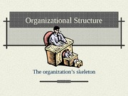 Organizational Structure Powerpoint