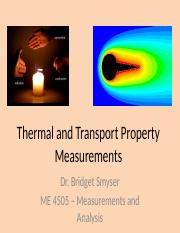 ME 4505 Thermal and Transport Property Measurements Fall 2017.pptx
