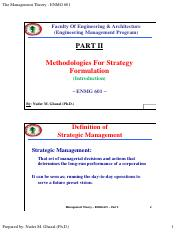 PART II - Intro to Strategic Management.pdf