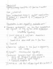 Cell signaling Notes page 3 Jan132010