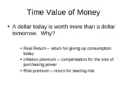 Lecture 3- Time Value of Money Part 1
