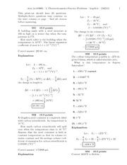I. Thermodynamics Practice Problems-solutions