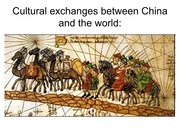 Cultural exchanges between China and the world_1