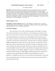 English 2 Summer 2017 Everyday Use Exercise on Revising Two Body Paragraphs (1).docx