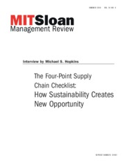 How Sustainability Creates New Opportunities