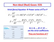 Non Ideal Gases part 2