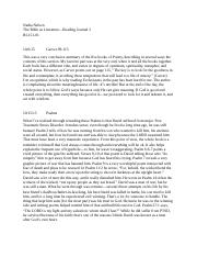 Bible as Lit_Reading Journal2.docx