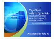 PageRank-without-hyperlinks