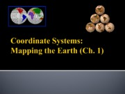 Lecture 2-Mapping the Earth(1)