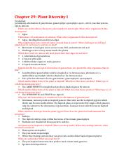 Chapter 29 study guide