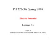 Lecture 5-6 Ch24