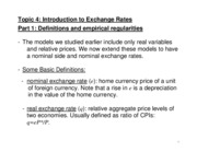 Lecture 3 Exchange Rate Determination
