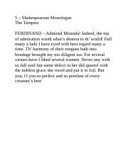 5 - Shakespearian Monologue - The Tempest.docx