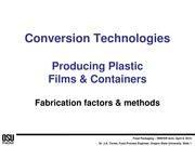 4 - Conversion technologies for plastic films