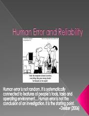 IE 160 Lec 2 - Human Error and Reliability.pdf