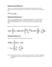 Notes 6_Boundary Layer Equations