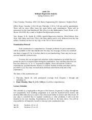 ams 578 homework 3 solution