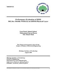 Performance Evaluation of IEEE 802.16e(Mobile WiMAX) in OFDM Physical Layer.pdf