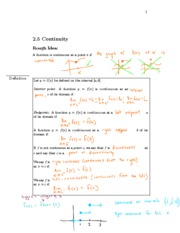 Section 2.5 Notes