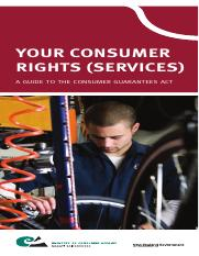 Your Consumer Rights -Services-