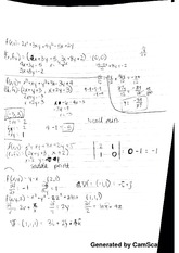 multivariable function notes