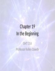 Chapter 19 - In the Beginning.pptx