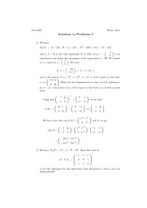 Math 325 Assignment 5 Solutions