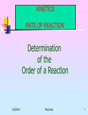 1. Determination of the order of the reaction.pdf