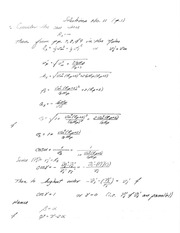 PHYS 4300 Homework and Solutions 11