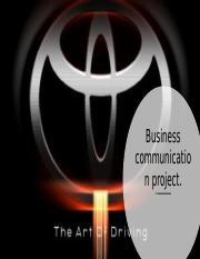 .Business Communication.project.pptx