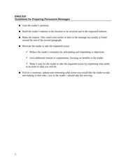 ENGL510_Guidelines for Preparing Persuasive Messages