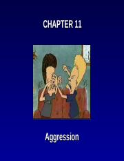 Chapter 11 - Aggression - BLANK (1).ppt WITH NOTES