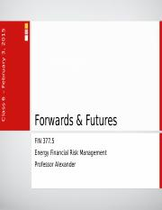 Lecture 05 - Forwards & Futures.ppt