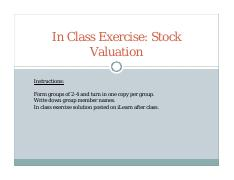 In Class Exercise Stock Valuation Fall 2015.pdf