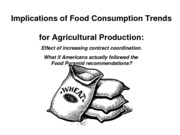 implic of consumption for farm prod