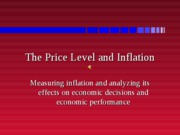 Lecture18--PRICELEVELANDINFLATION
