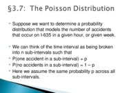 Lecture Notes Chapter 3 Section 7