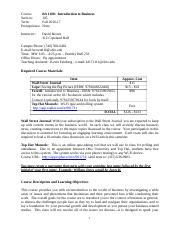 BA 1100 Section 105 - Syllabus Fall 2016 Updated 9-13 (1).docx
