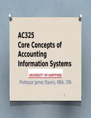 AC325 Slides - Course Intro & Chapter 1-2